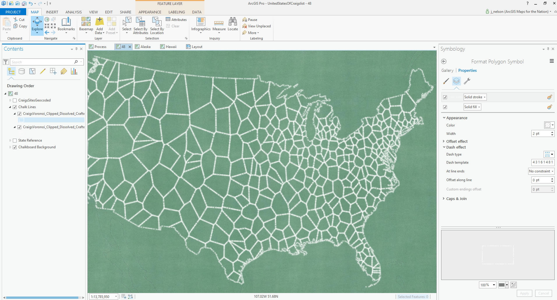 how to united states of craigslist chalkboard map adventures in