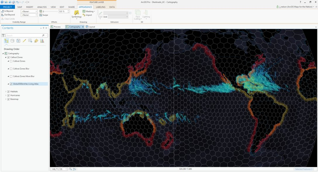 How-To: Sharknado Map – Adventures In Mapping