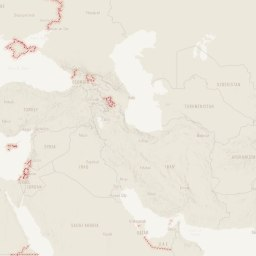 The cartography of the Bruised Borders story