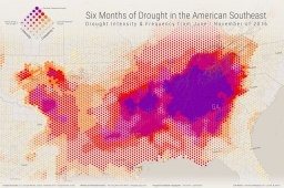 Six Months of Drought in the American Southeast