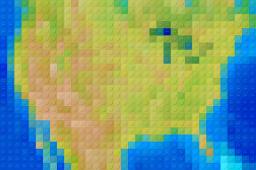 Lego-ified Maps