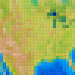 Lego-ified Maps