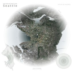 Time Warp Walkability Map of Seattle