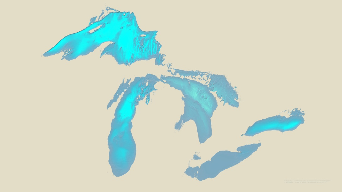 GreatLakesBathymetry