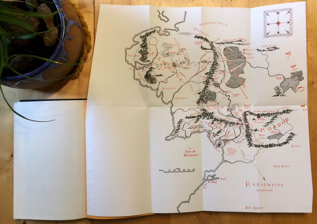 Middle Earth Map Style – Adventures In Mapping