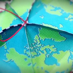 Geodesic Globe Christmas Ornament Thing