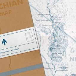 Appalachian Trail Map Journal