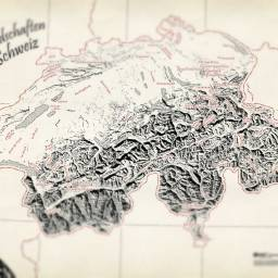 Some Maps of Germany & Switzerland