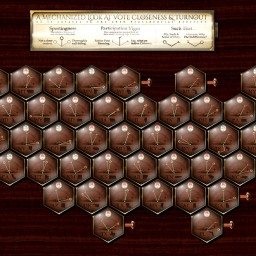 Steampunk Election Cartogram