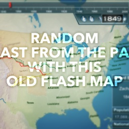 Random Blast from the Past with this Old Flash Map! pt1