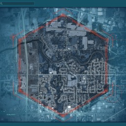 Turn Your Neighborhood into a Cinematic Command Center Hexagon Map…Because.