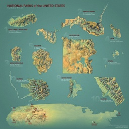 Updated Top Ten US National Parks