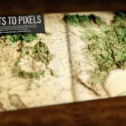 Make a Vintage Forestry Map 3D With Modern Forestry Data