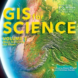 How to make the map on the cover of GIS for Science volume 3